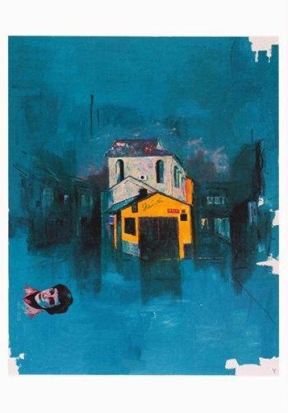 画像1: ポストカード 「ガロア」の寮 (1)