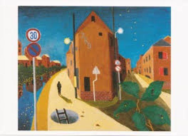 画像1: ポストカード Road of the Fireflies (1)