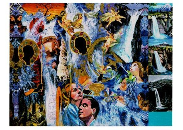 画像1: ポストカード King of Art (Unfinished) (1)