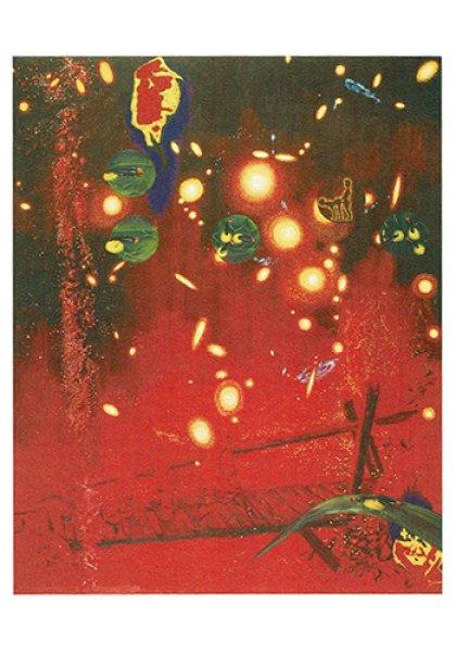 画像1: ポストカード Cosmic Firefly (1)
